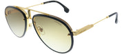 Carrera Carrera Glory 2M2 Aviator Metal Black Sunglasses with Brown Gradient Lens