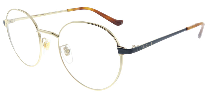 Gucci GG 0581O 005 Round Metal Gold Eyeglasses with Demo Lens
