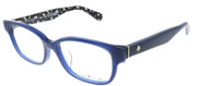 Kate Spade KS Abelina/F S4T Square Plastic Blue Eyeglasses with Demo Lens