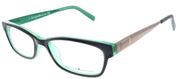 Kate Spade KS Leanne 1Y6 Rectangle Plastic Green Eyeglasses with Demo Lens