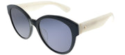 Kate Spade KS Jenisa/F/S QOY Cat-Eye Plastic Black Sunglasses with Grey Lens