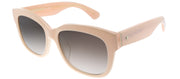 Kate Spade KS Lorelle/F/S QPF Square Plastic Pink Sunglasses with Brown Gradient Lens