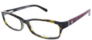 Kate Spade KS Narcisa 062 Rectangle Plastic Tortoise/ Havana Eyeglasses with Demo Lens