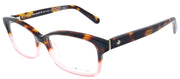Kate Spade KS Sharla W99 Rectangle Plastic Tortoise/ Havana Eyeglasses with Demo Lens