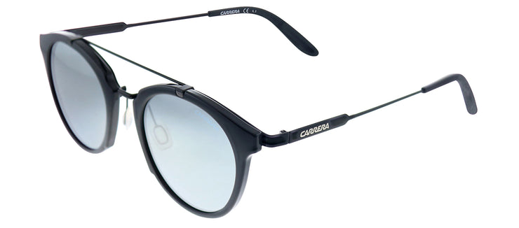 Carrera CA Carrera126/S 6UB T4 Round Plastic Black Sunglasses with Grey Mirror Lens