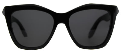 Givenchy GV 7008 QOL Cat-Eye Plastic Black Sunglasses with Grey Lens