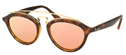 Ray-Ban RB 4257 60922Y Fashion Plastic Tortoise/ Havana Sunglasses with Pink Mirror Lens