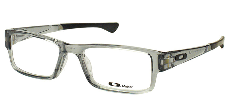 Oakley OX 8046 03 Rectangle Plastic Grey Eyeglasses with Demo Lens