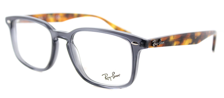 Ray-Ban RX 5353 5629 Square Plastic Grey Eyeglasses with Demo Lens
