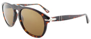 Persol Suprema PO 649 24/57 Aviator Plastic Tortoise/ Havana Sunglasses with Brown Polarized Lens