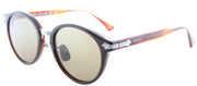 Gucci GG 0066S 001 Round Plastic Tortoise/ Havana Sunglasses with Brown Lens