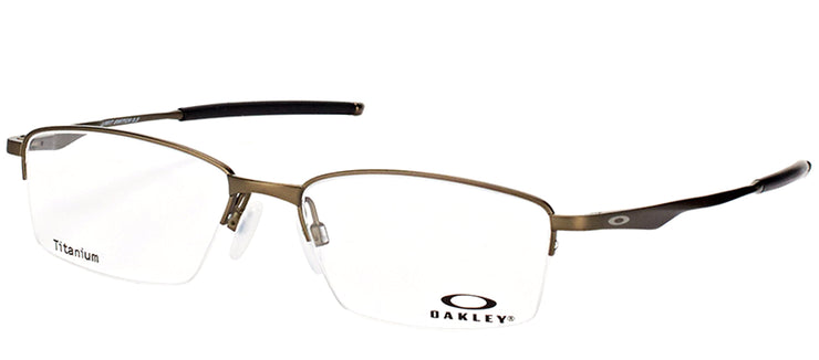 Oakley OX 5119 02 Rectangle Metal Grey Eyeglasses with Demo Lens