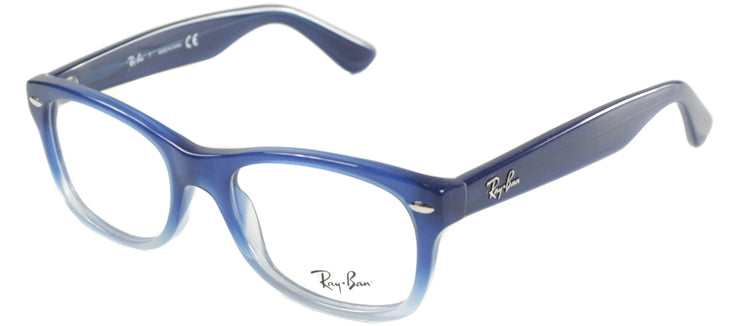 Ray-Ban Junior Jr RY 1528 3581 Square Plastic Blue Eyeglasses with Demo Lens