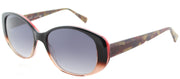 Lafont LF Vallauris 5073 Cat-Eye Plastic Brown Sunglasses with Brown Gradient Lens