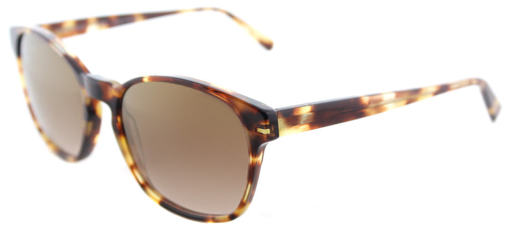 Lafont LF Volubilis 532 Square Plastic Tortoise/ Havana Sunglasses with Brown Gradient Lens