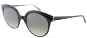 Lafont LF Vogue 1044 Square Plastic Black Sunglasses with Brown Gradient Lens