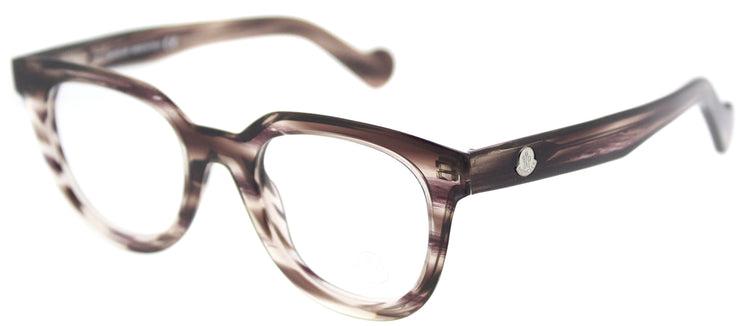 Moncler ML 5005 081 Square Plastic Grey Eyeglasses with Demo Lens