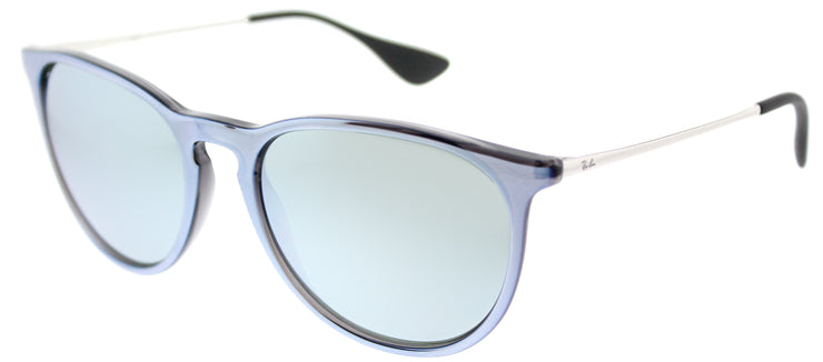 Ray-Ban RB 4171 631930 Oval Plastic Grey Sunglasses with Silver Mirror Lens