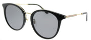 Gucci GG 0204SK 001 Fashion Plastic Black Sunglasses with Grey Lens