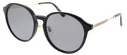 Gucci GG 0205SK 001 Fashion Plastic Black Sunglasses with Grey Lens