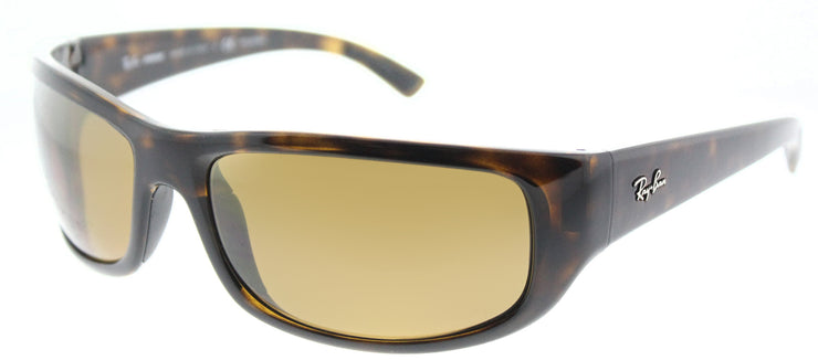 Ray-Ban RB 4283CH 710/A3 Sport Plastic Tortoise/ Havana Sunglasses with Bronze Mirror Chromance Lens