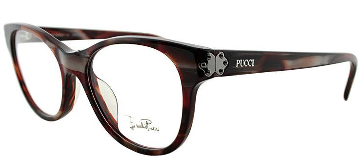 Emilio Pucci EP 2677 615 Rectangle Plastic Burgundy/ Red Eyeglasses with Demo Lens