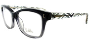 Emilio Pucci EP 2717 003 Rectangle Plastic Grey Eyeglasses with Demo Lens