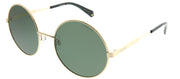 Polaroid PLD 4052/S J5G UC Round Metal Gold Sunglasses with Green Polarized Lens