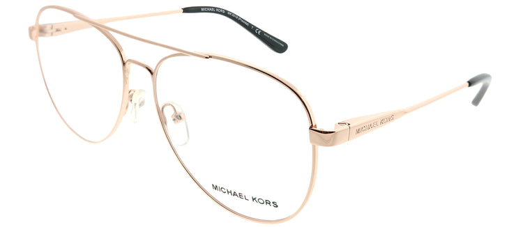 Michael Kors MK 3019 1116 Aviator Metal Gold Eyeglasses with Demo Lens