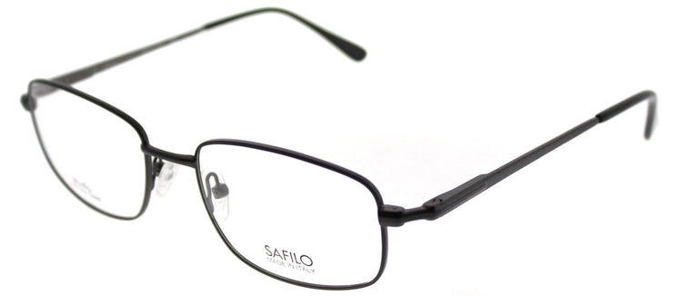 Elasta EL 7193N JVX Rectangle Metal Grey Eyeglasses with Demo Lens