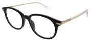 Dior CD Essence1 7C5 Round Plastic Black Eyeglasses with Demo Lens