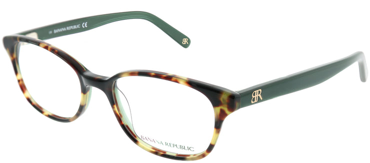 Banana Republic BP Coleen JZW Rectangle Plastic Tortoise/ Havana Eyeglasses with Demo Lens