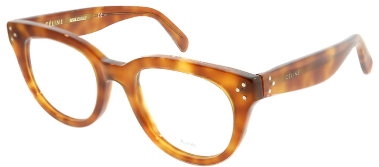 Celine CL 41379 TEN Cat-Eye Plastic Tortoise/ Havana Eyeglasses with Demo Lens