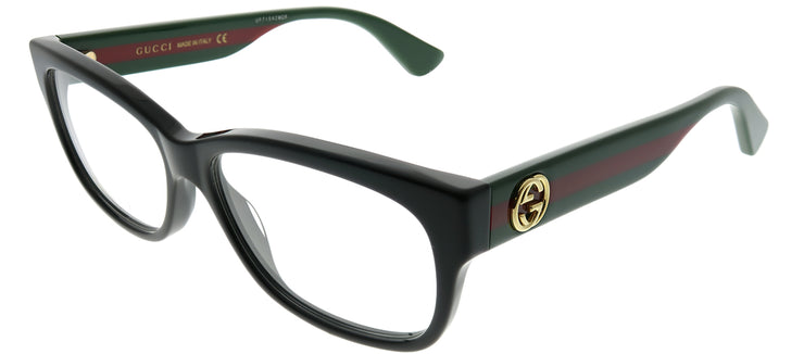 Gucci GG 0278O 011 Rectangle Plastic Black Eyeglasses with Demo Lens
