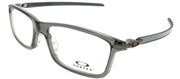 Oakley OX 8092 03 Rectangle Plastic Grey Eyeglasses with Demo Lens