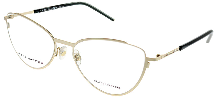Marc Jacobs Marc 40 RHL Cat-Eye Metal Gold Eyeglasses with Demo Lens