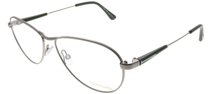 Tom Ford FT 5297 014 Aviator Metal Silver Eyeglasses with Demo Lens