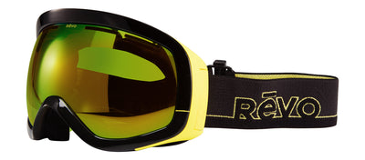 Revo Snow Capsule RG 7000 01 PGN Sport Plastic Black Goggles with Green Water Photo Polariazed Lens