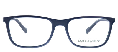 Dolce & Gabbana DG 5027 3017 Rectangle Plastic Blue Eyeglasses with Demo Lens