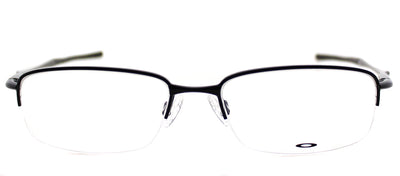 Oakley Clubface OX 3102 01 Semi-Rimless Metal Black Eyeglasses with Demo Lens