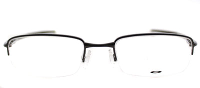 Oakley Rhinochaser OX 3111 01 Semi-Rimless Metal Grey Eyeglasses with Demo Lens