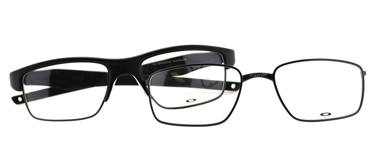 Oakley Crosslink Switch OX 3128 01 Sport Metal Black Eyeglasses with Demo Lens