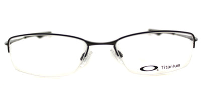 Oakley Wingback OX 5089 05 Semi-Rimless Metal Grey Eyeglasses with Demo Lens