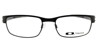 Oakley Metal Plate OX 5038 02 Rectangle Metal Grey Eyeglasses with Demo Lens