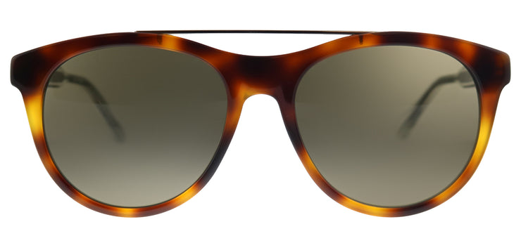Gucci GG 0559S 002 Round Plastic Tortoise/ Havana Sunglasses with Brown Lens