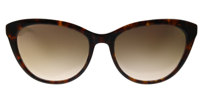 Lilly Pulitzer LP Havana TO Cat-Eye Plastic Tortoise/ Havana Sunglasses with Gold Mirror Lens