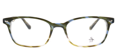 Original Penguin PE Clyde LT Rectangle Plastic Tortoise/ Havana Eyeglasses with Demo Lens