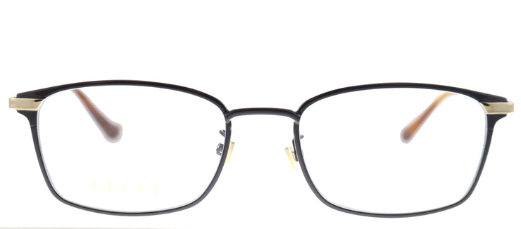 Gucci GG 0579OK 002 Rectangle Metal Black Eyeglasses with Demo Lens