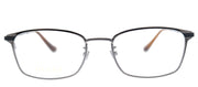 Gucci GG 0579OK 003 Rectangle Metal Silver Eyeglasses with Demo Lens