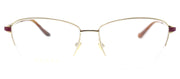 Gucci GG 0580O 003 Cat-Eye Metal Gold Eyeglasses with Demo Lens